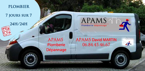 camion apams plomberie